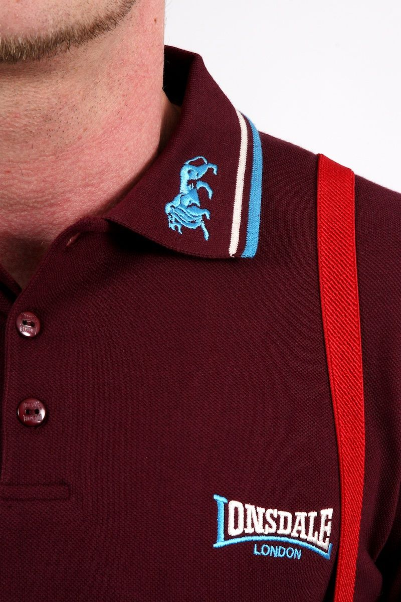 853185cc22d669 In Stock  The Lonsdale Classic Lion Slim Fit Polo Shirt  £35 The classic