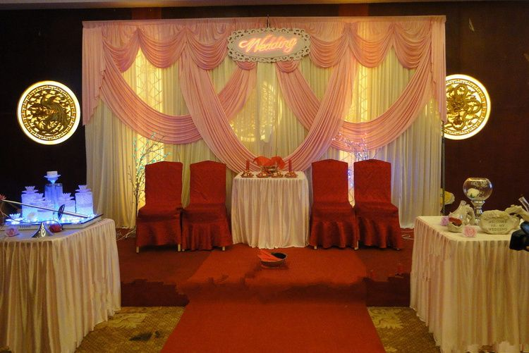 New design pink wedding backdrop swag decoration 10ft20ftparty new design pink wedding backdrop swag decoration 10ft20ftparty decoration supplies for wedding party junglespirit Choice Image