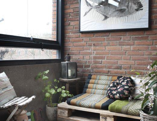 Stoer Inpandig Balkon : Balkon afschermen met rieten matten balkon verschönern balcony
