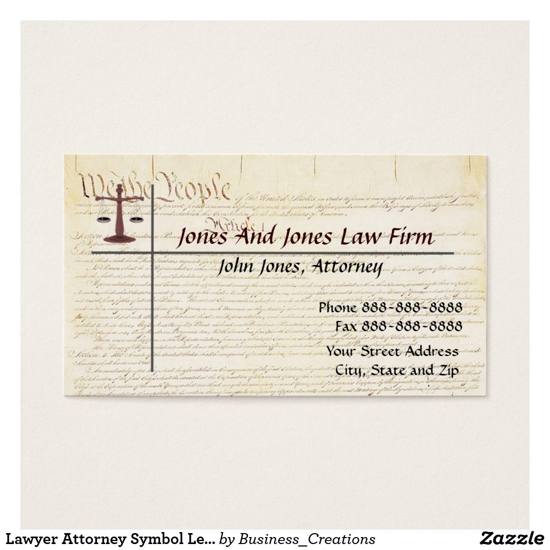 Lawyer attorney symbol legal business card legal business and symbols lawyer attorney symbol legal business card reheart Images