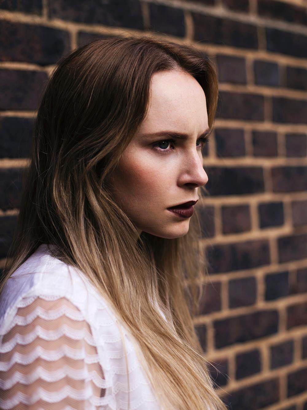 Photographer: Emma Flewers Model: Holly Weston Makeup: Albieleo #editorialmakeup #makeup #photoshoot #London #Hackney