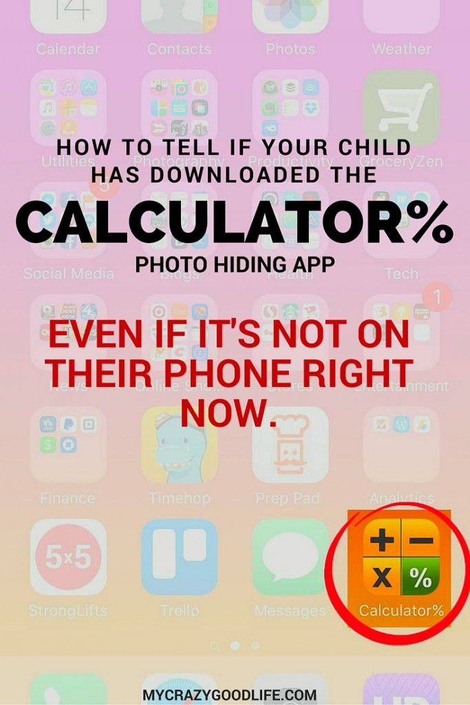 Wondering if your child has downloaded the Calculator