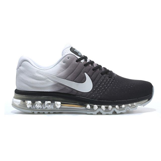 huge selection of 5bbe0 66b69 Black · Nike Air Max 2017 Black White Grey Men