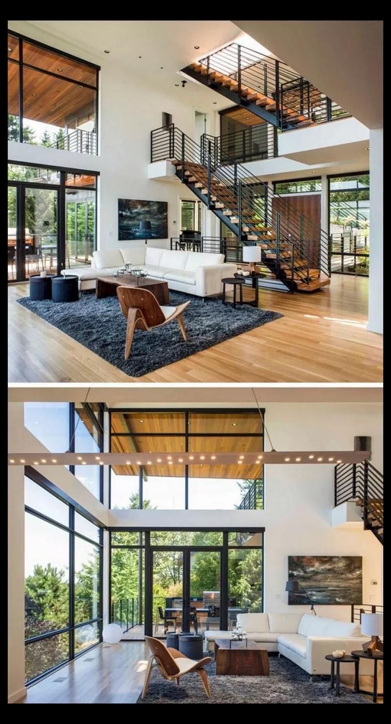 Pin On Dream House | Stair Room Exterior Design | 3 Floor Building | Box Type | Brick | Open Plan | Amazing
