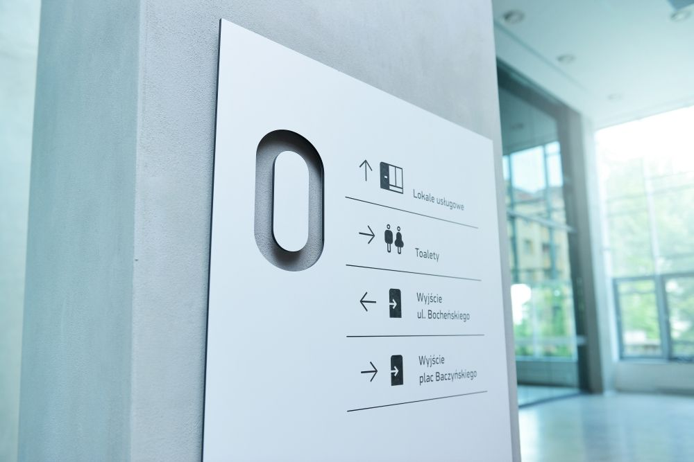 Wayfinding System Cultural And Commercial Passage On Behance