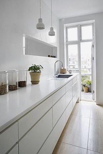 Resultat d\'imatges de cocinas sin armarios superiores | Cuines ...