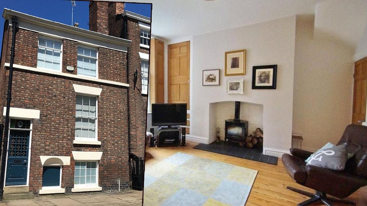 You'd never expect the inside of a 200-year-old Georgian house to look like this....  Mortgage Broker in Liverpool - http://liverpoolmoneyman.com  #Mortgage #Advice #Liverpool