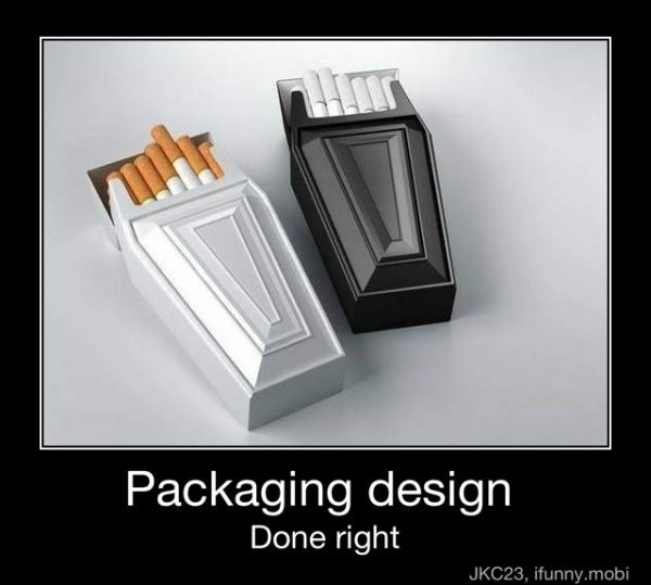 #irony #packaging done right