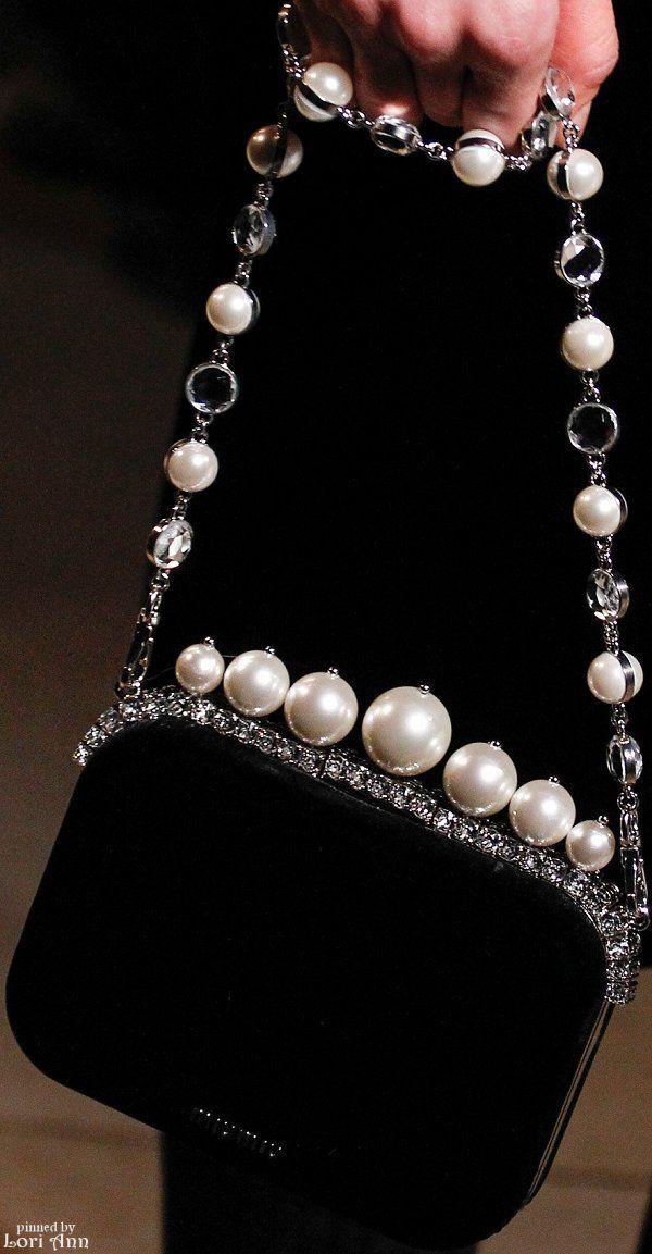 Suno Fall 2015 RTW Runway pearls on pearls on perfect