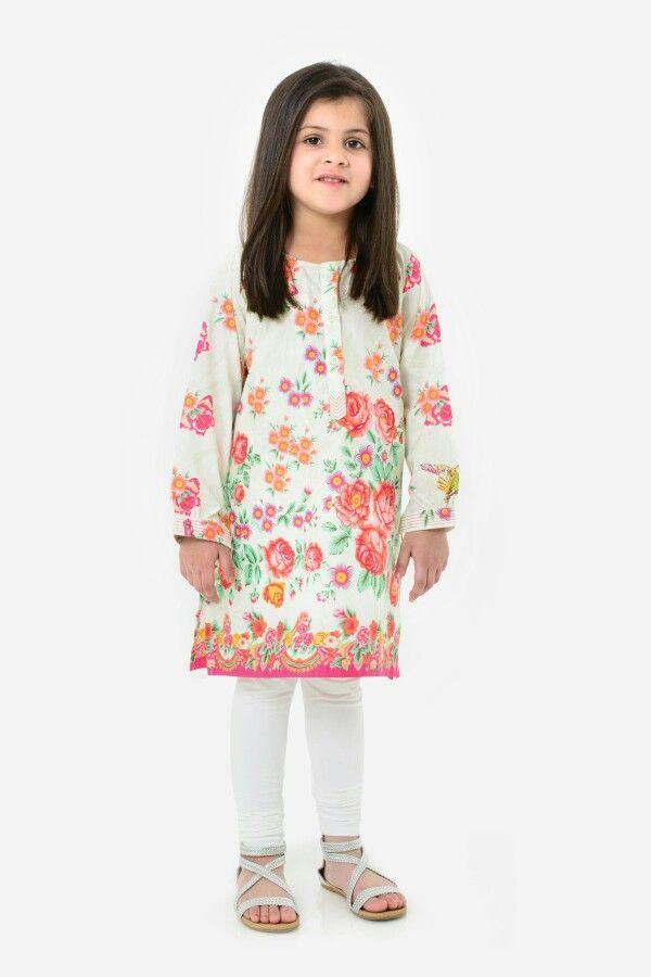 b29a14372b56 Khaadi kids pakistan Kids Indian Wear, Shoe Size Chart Kids, Little Girl  Fashion,