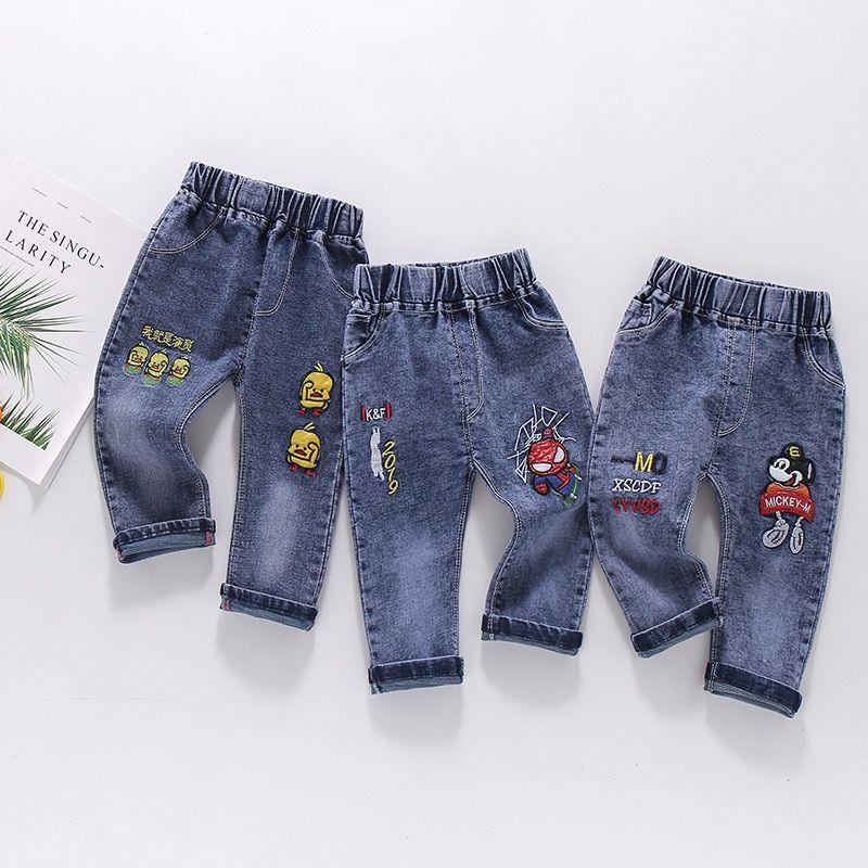Cheap Pantalones Buy Directly From China Suppliers Nuevos Ninos Dibujos Animados Mickey Jeans Pantalones Alta Calidad Kids Denim Dresses Kids Girl Jeans Kids