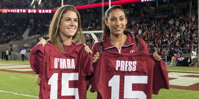 Stanford Women S Soccer On Instagram With Senior Day This Sunday We Shall Call This Whole Week Senior Week Soccer Outfit College Soccer Stanford Soccer