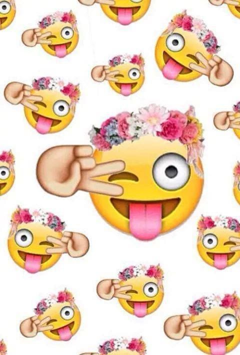 Emoji Background Tumblr Emojis Via Facebook Em We Heart It