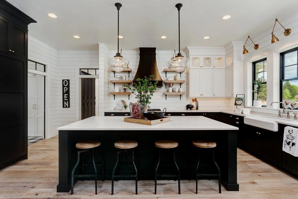 the 15 most beautiful modern farmhouse kitchens on pinterest sanctuary home decor kitchen on farmhouse kitchen kitchen id=63207