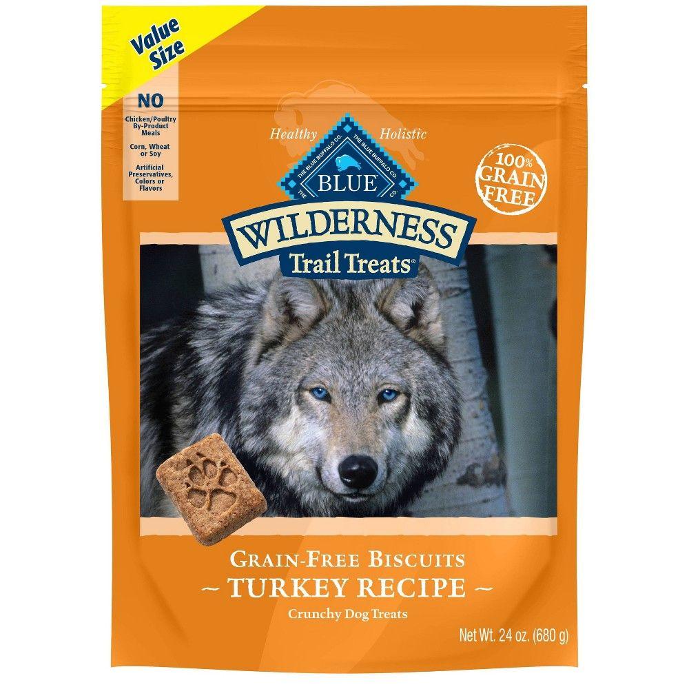 Blue Buffalo Wilderness 100 Grain Free Biscuits Turkey Recipe Crunchy Dog Treats 24oz In 2020 Dog Treats Grain Free Grain Free Dog Blue Buffalo