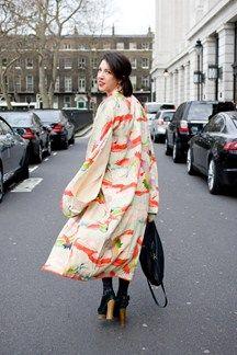 London Fashion Week - street chic