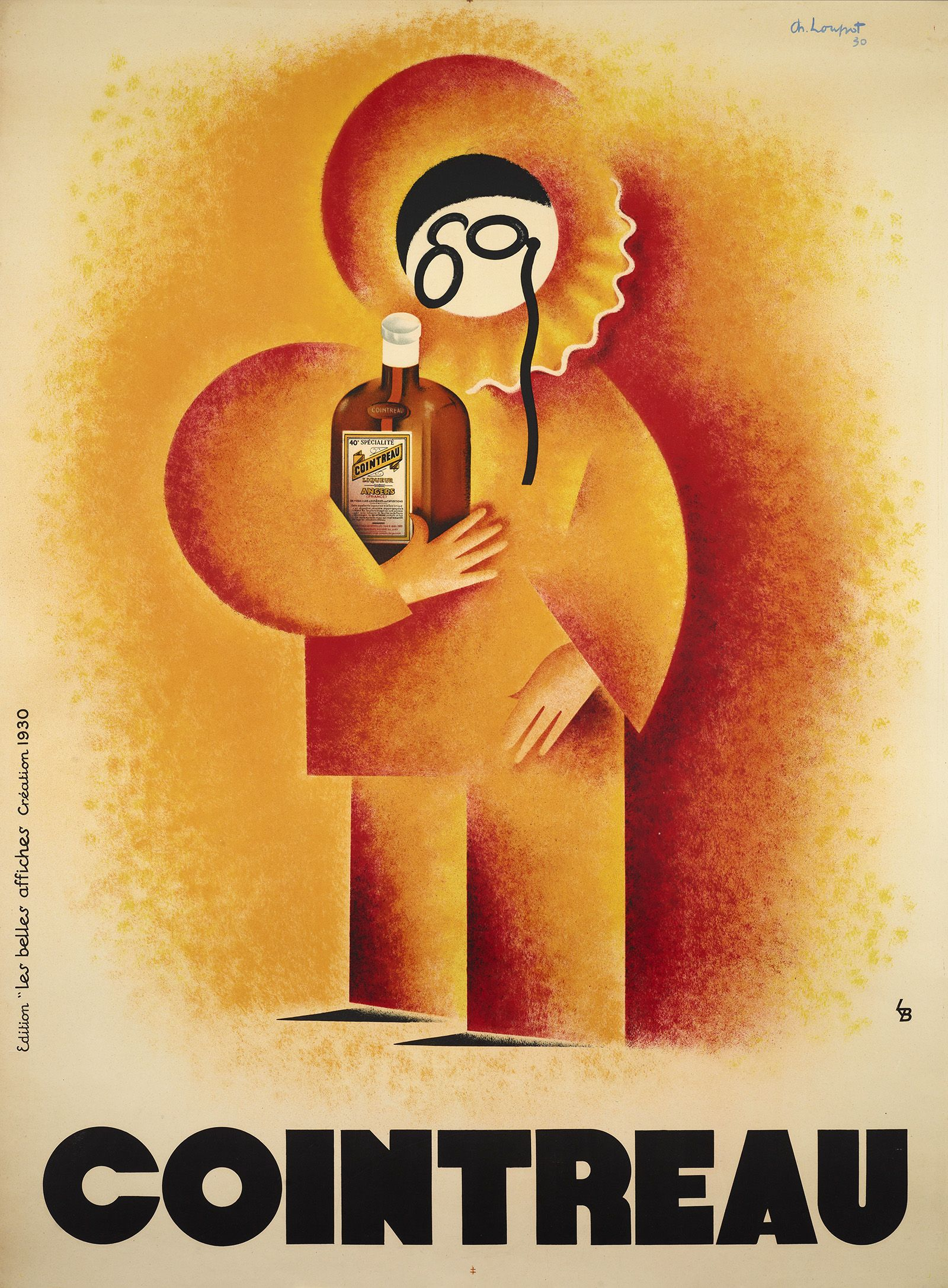 Cointreau by Charles Loupot art deco poster in 1930!  available on our website