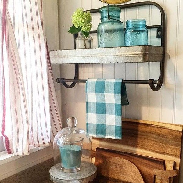 Rich With History This Vintage Towel Rack Was Once Used As