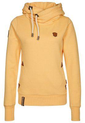 Bestbewertet echt neues Erscheinungsbild billiger Verkauf Naketano DARTH III - Hoodie - yellow - Zalando.co.uk | My ...
