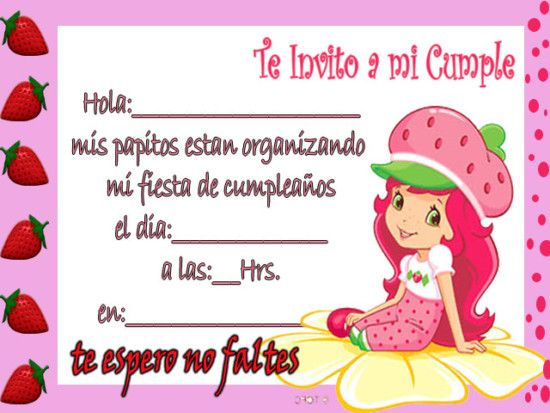 invitaciones de cumpleaños para niños | invitaciones de cumpleaños
