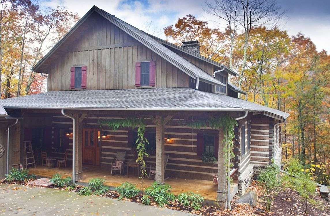 Pin On Log Home Exteriors