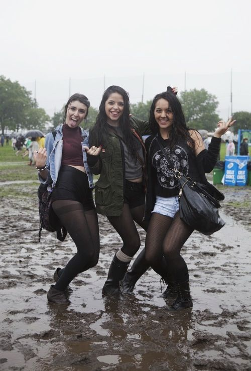 what to wear to a festival in the rain