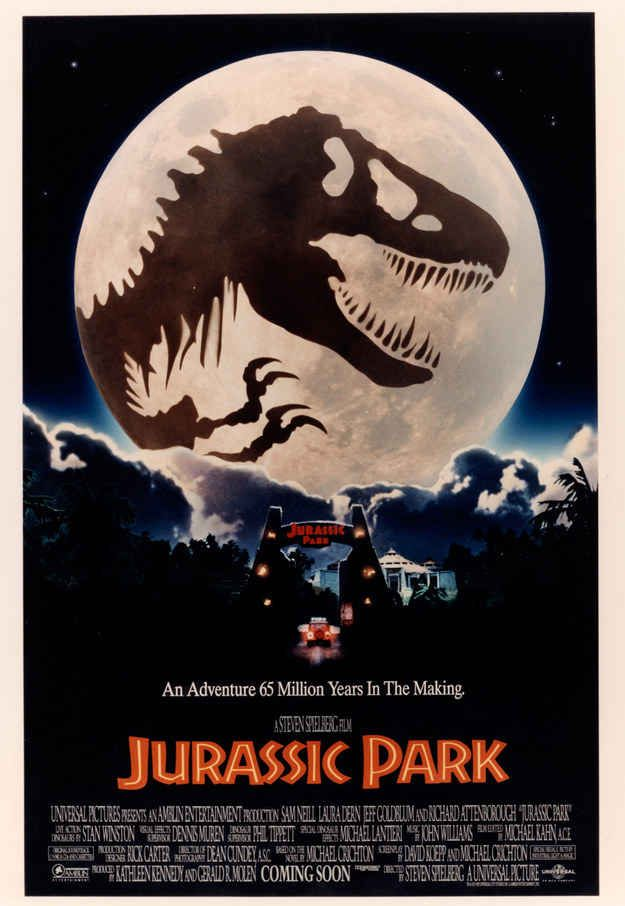 Unseen Jurassic Park Posters