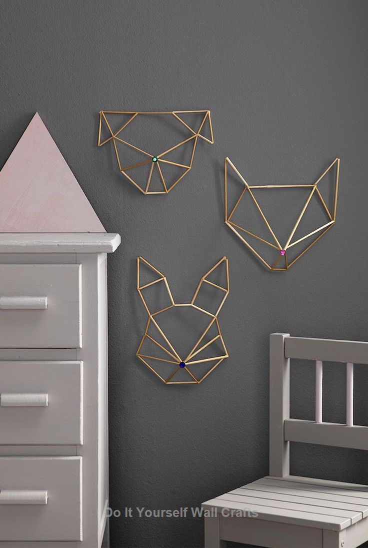 Do It Yourself Wall Crafts To Decorate Your Home Himmeli Diy