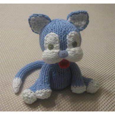 Knitkinz Cat for Your Office  Knitting pattern by knitvana | Knitting Patterns | LoveKnitting