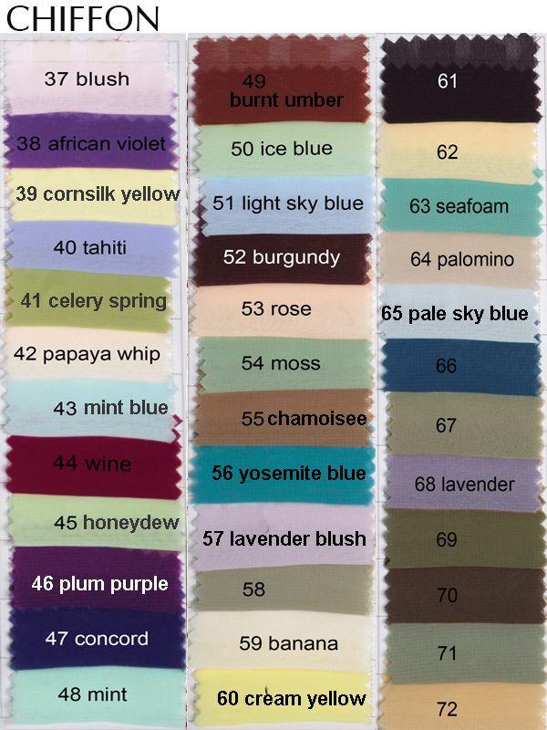 Color names for blue purple dress