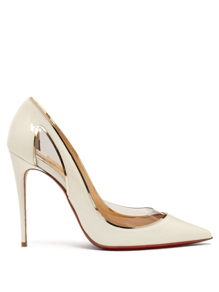 f3db5c719039 Christian Louboutin taps into the perspex trend in typically elegant fashion