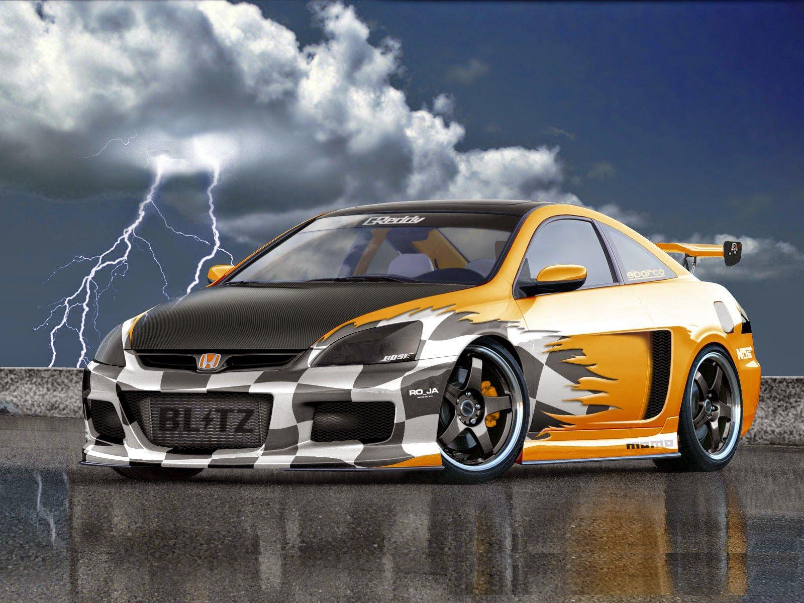 Honda Blitz Sports Car HD Wallpaper HD Wallpapers Pinterest