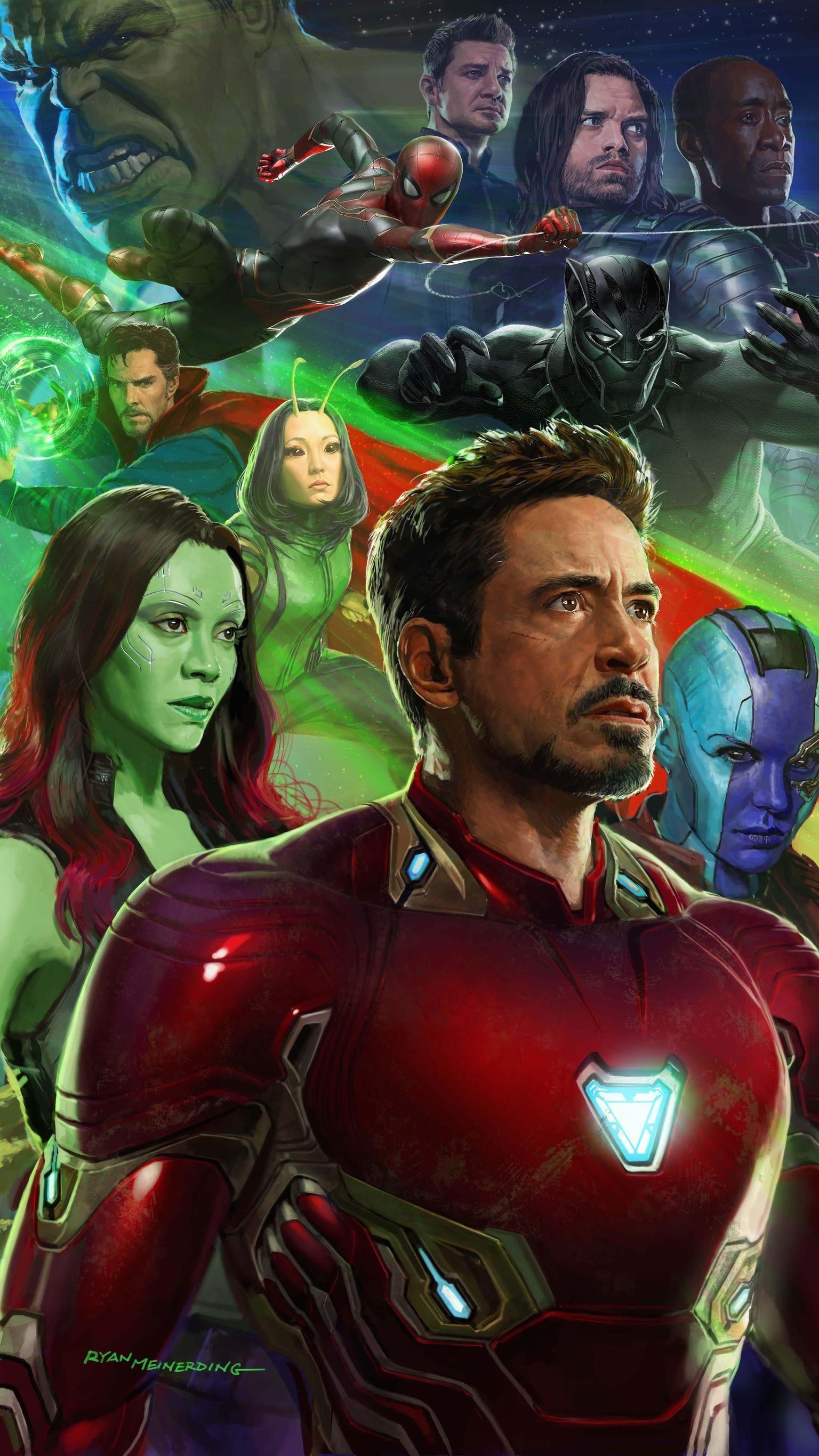 Avengers Infinity War 2018 Phone Wallpaper Moviemania Marvel Avengers New Avengers