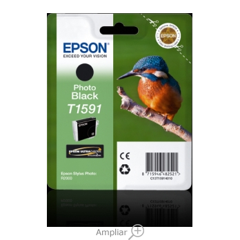 INK-JET EPSON T1591 STYLUS PHOTO R2000 NEGRO -500 PAG-