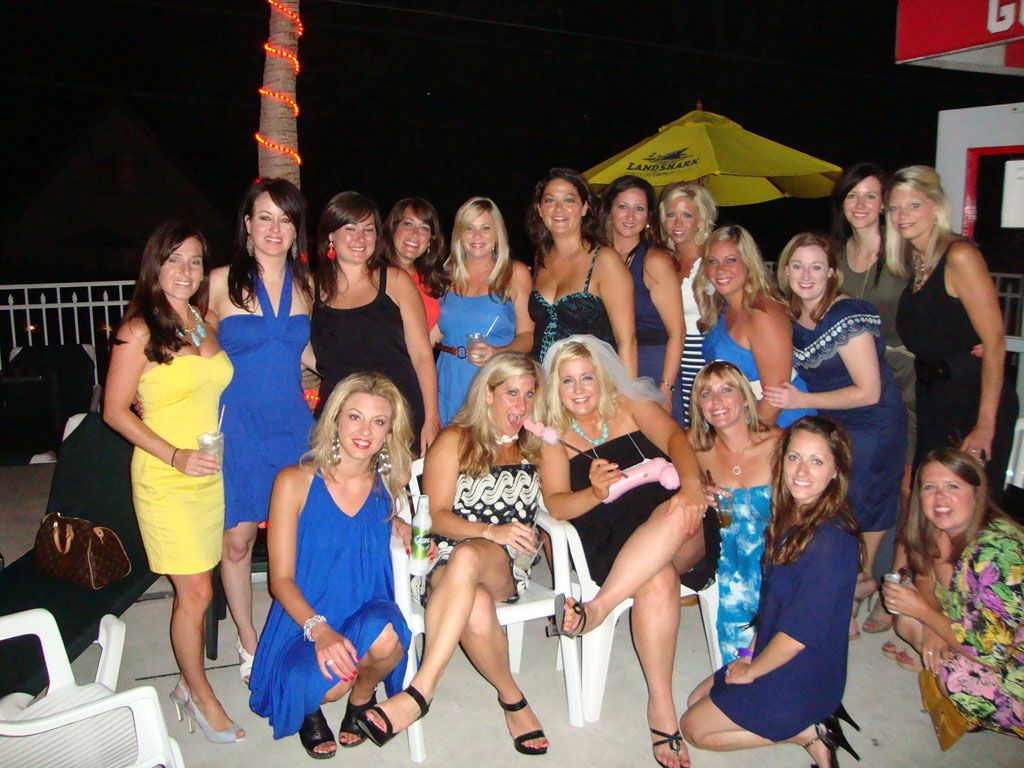 Another group of girls having a bachelorette party at Put ...