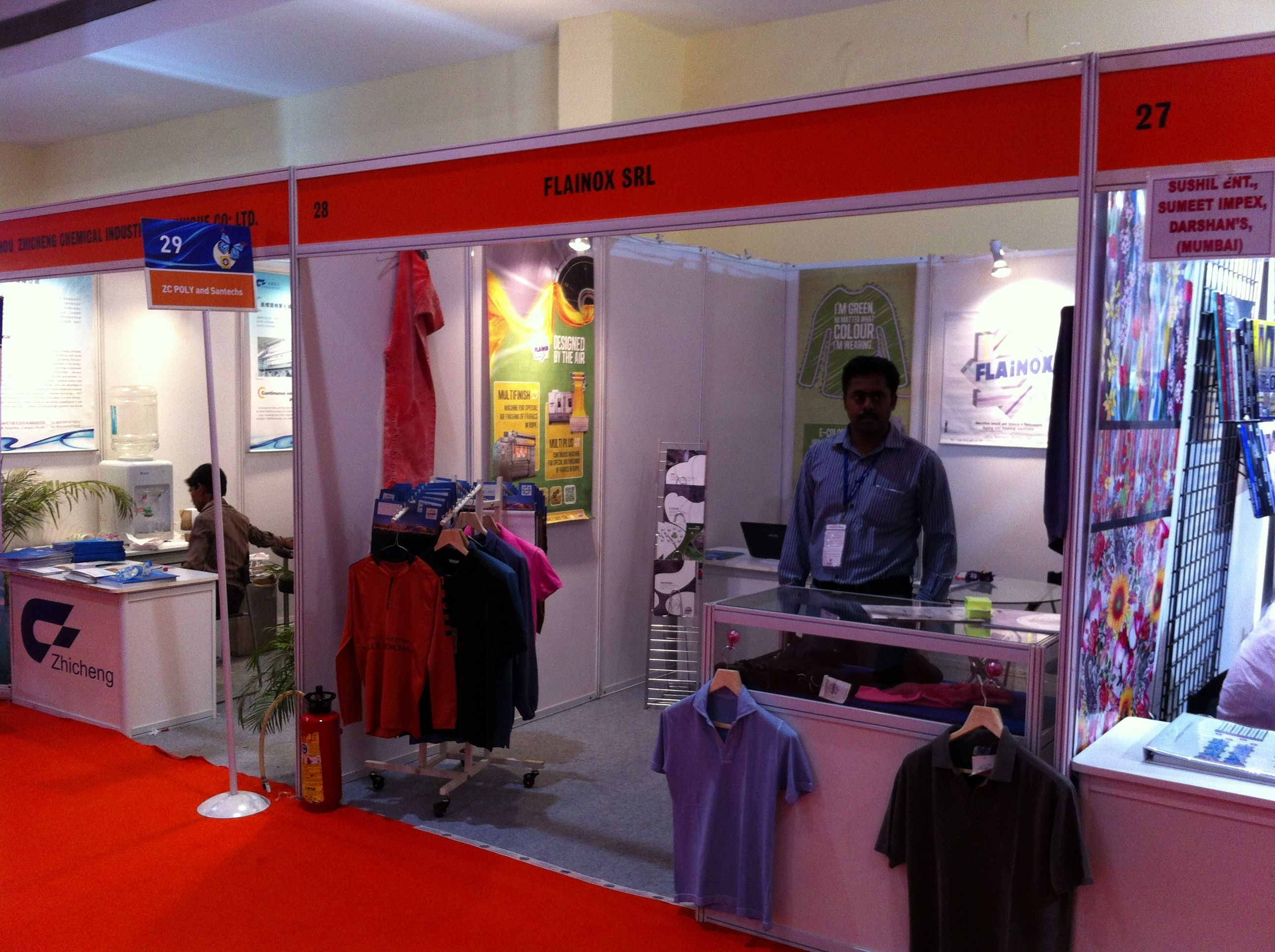 #indiaitme 2012 exhibition - booth