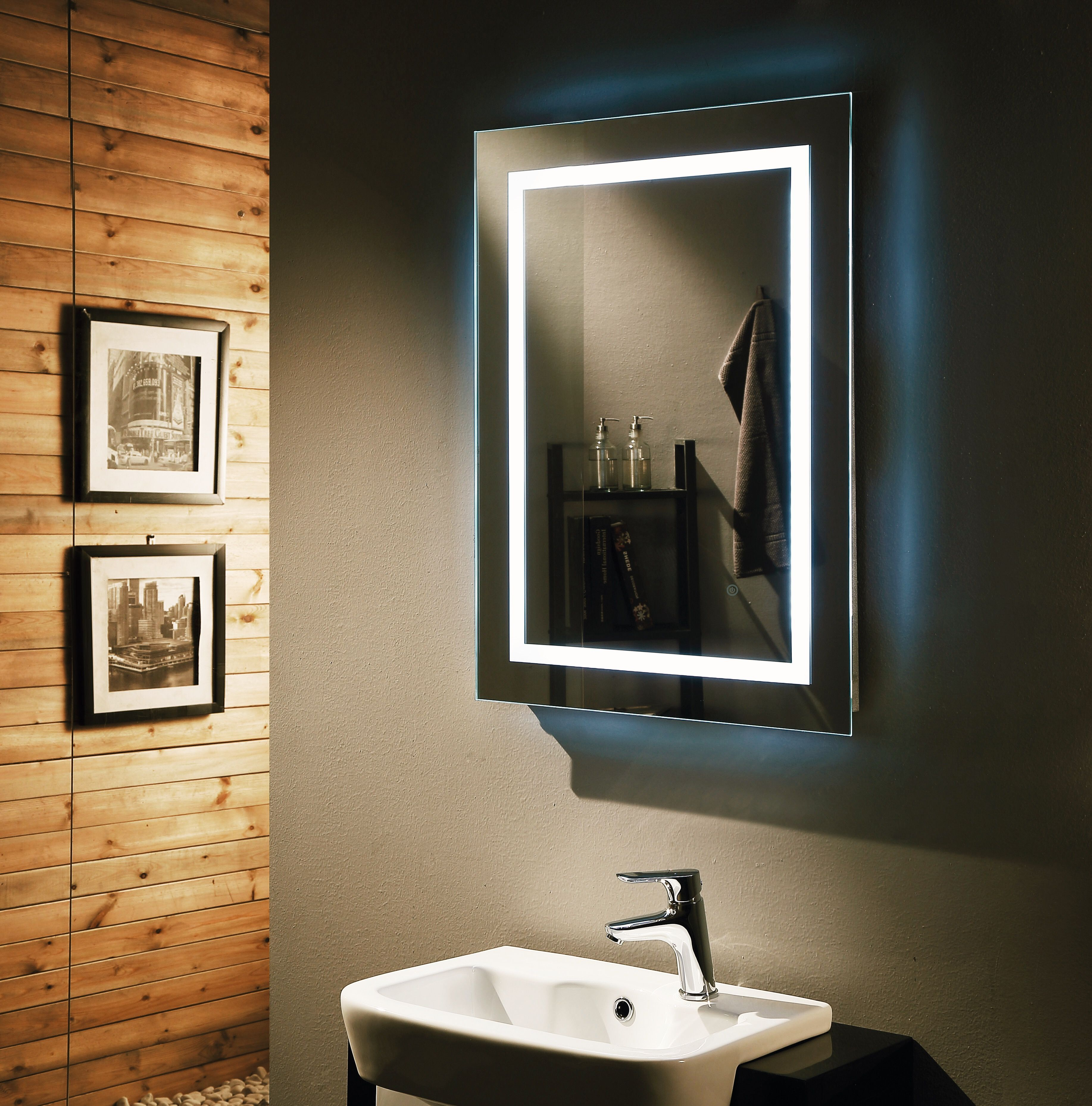 Backlit Mirror, Remer, LED Mirror, Demister Pad, Demister