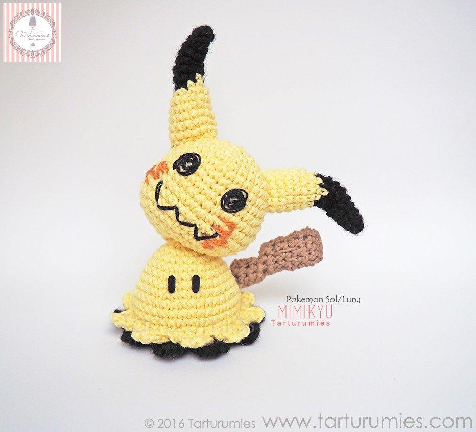Amigurumi Patrón: Pokémon Mimikyu | Amigurumi, Pokémon and Crochet