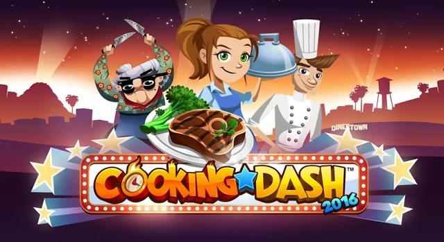 Cooking Dash Mod Apk Terbaru Unlimited Golds/Coins
