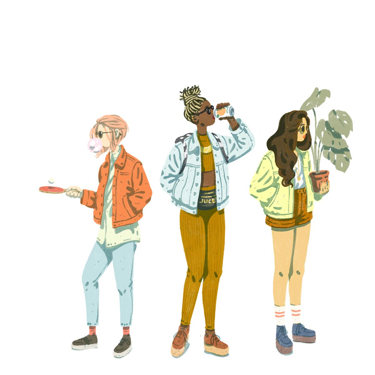 Juce on Behance | Illustration | Illustration, Character