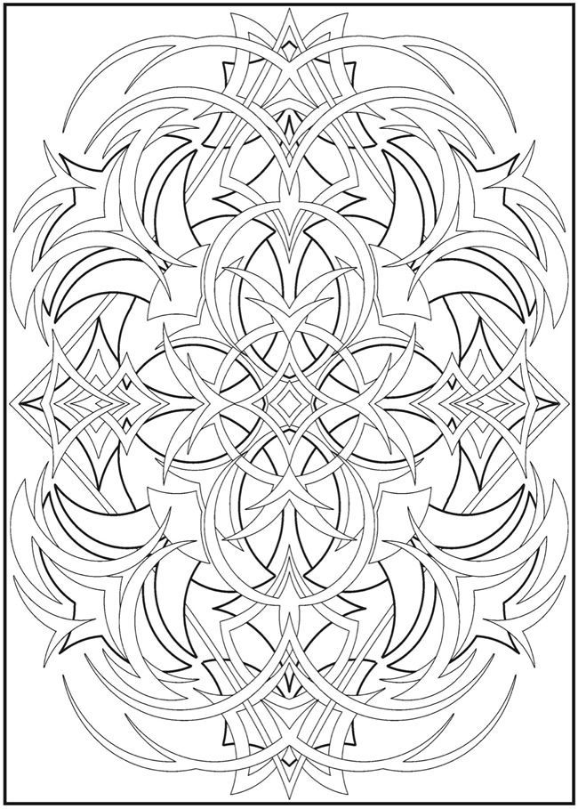 abstract coloring pages | coloring pages for adults abstract is an ...