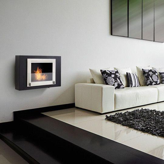 Wellington Wall Mounted Ethanol Fireplace