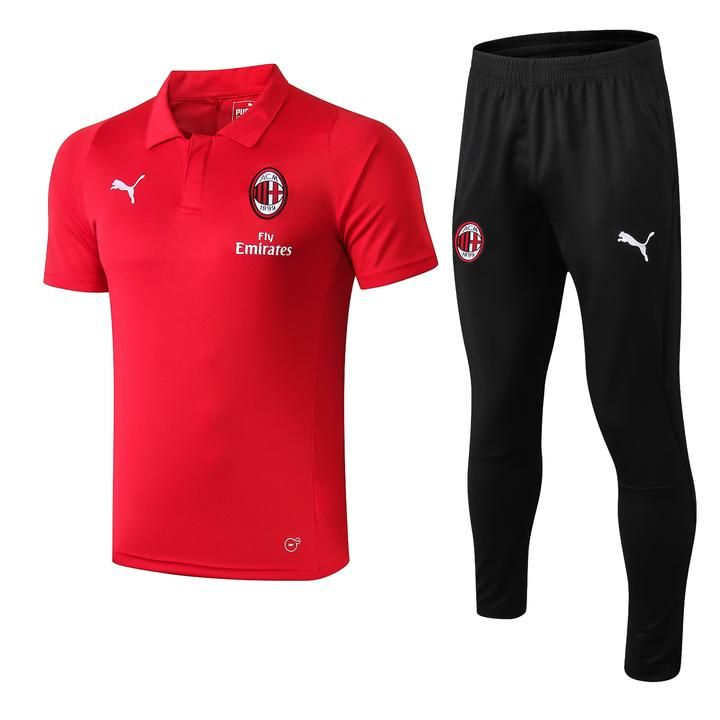 A.C. Milan Football club I Rossoneri Puma 2018 19 Polo Shirt