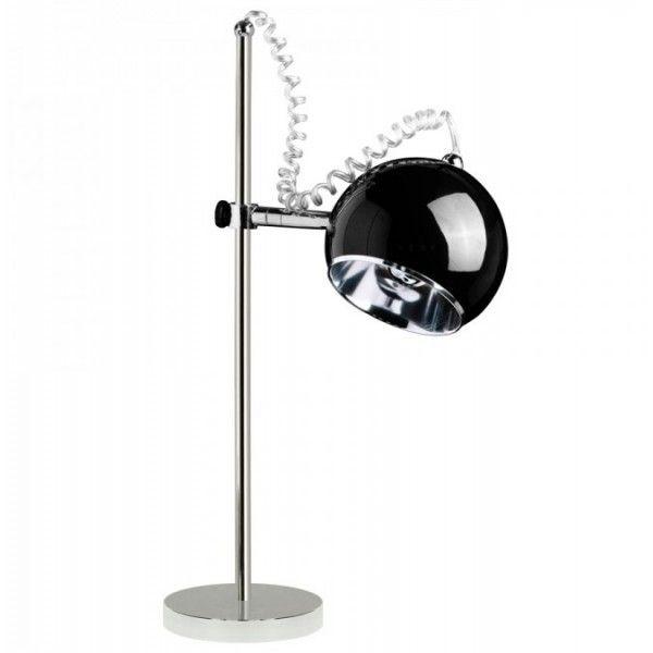 Zwarte bureaulamp Retro bolspot AIW Design - AllesinWonderland.nl