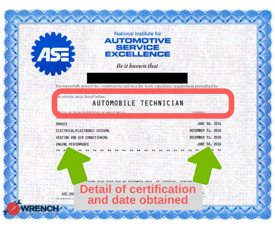 [BLOG] What Is An ASE Certification