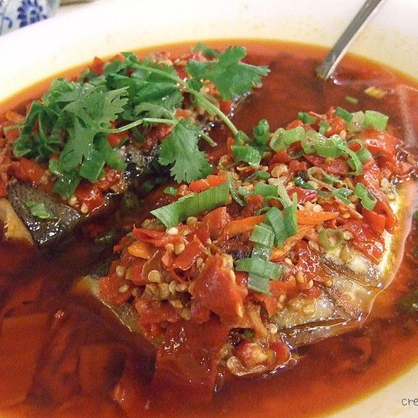 Spicy Sichuan Fish Hong Xing Seafood Restaurant Guangzhou Seafood Restaurant Asian Recipes Cooking Recipes