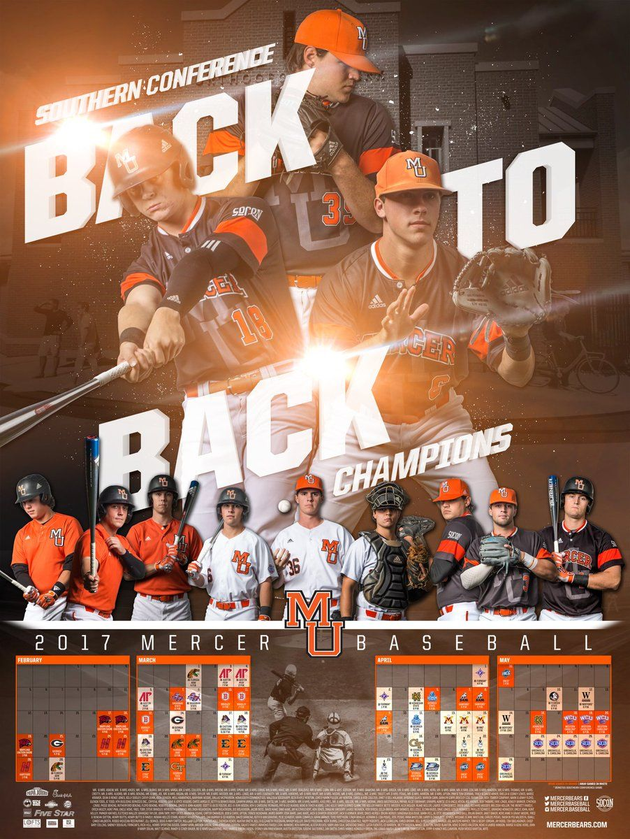 Even For Sports Like Baseball That Have Longer Schedules You Can Make These Graphics It Is Cool That T In 2020 Baseball Poster Design Baseball Posters Baseball Design