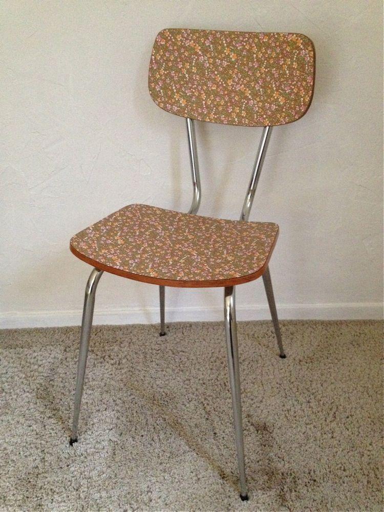 Creations Meuble Relooke Sur A Little Market Retaper Un Meuble Chaise Formica Relooking Meuble