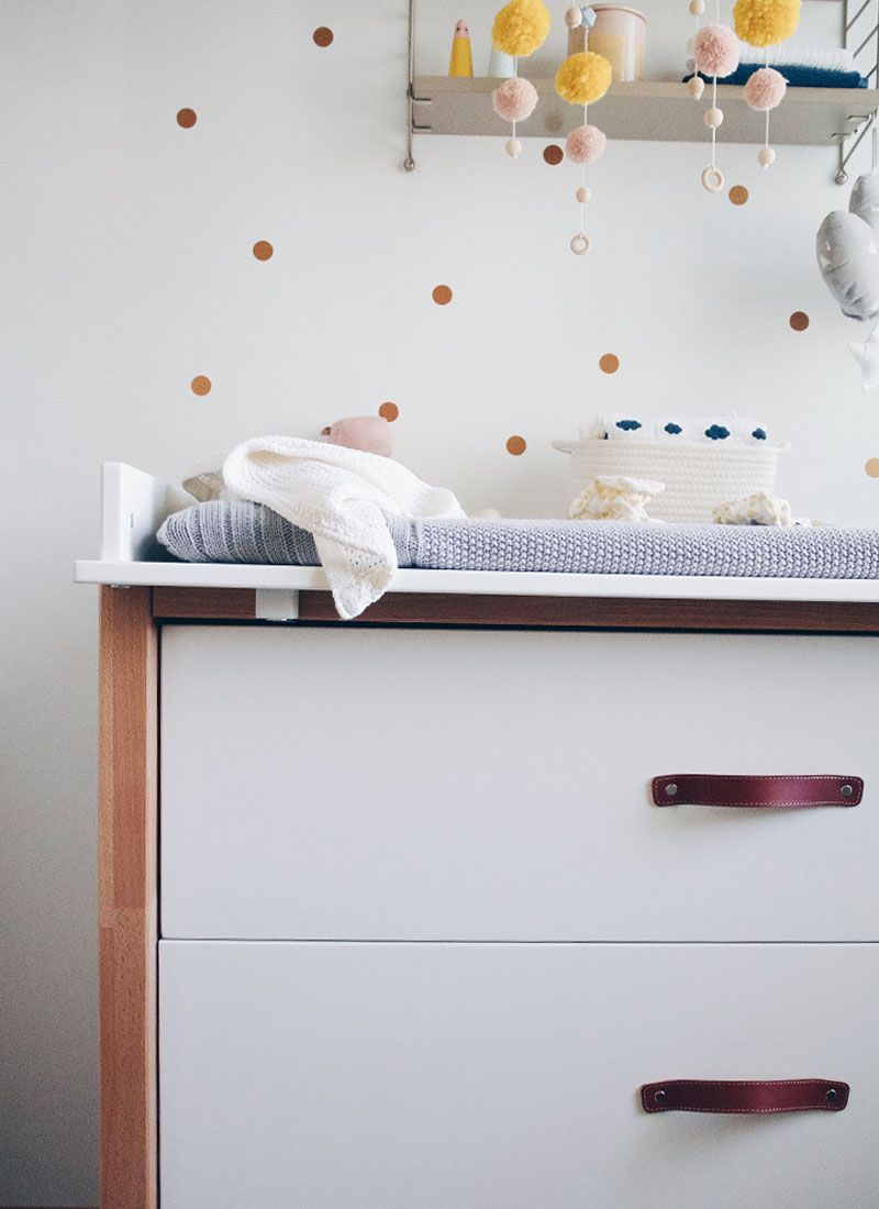 Wickelkommode Einrichten anzeige) getting ready for the baby - part 1: wickelkommode & tipps