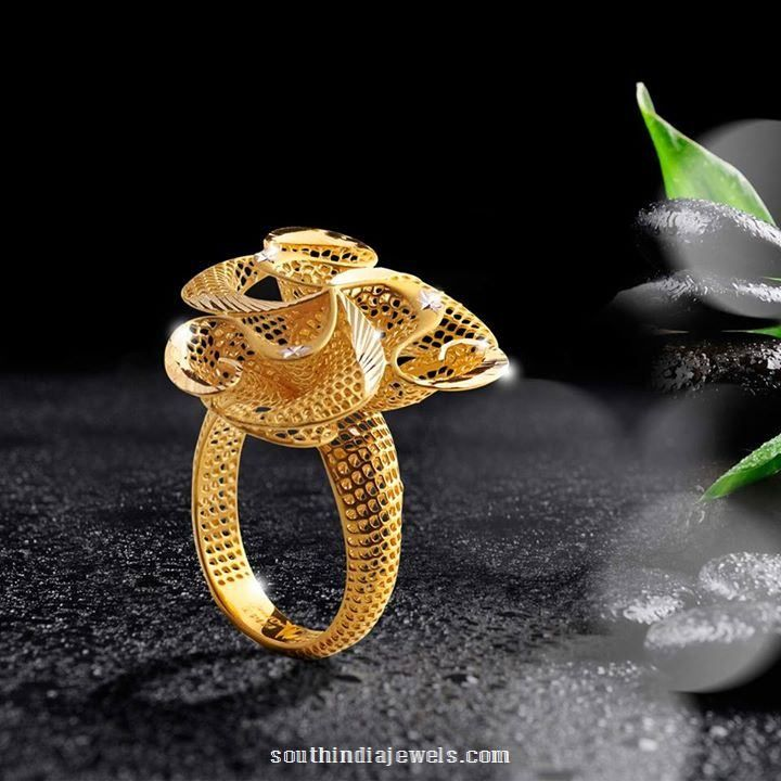 Gold ring design from Jewel one rings Pinterest Ring designs